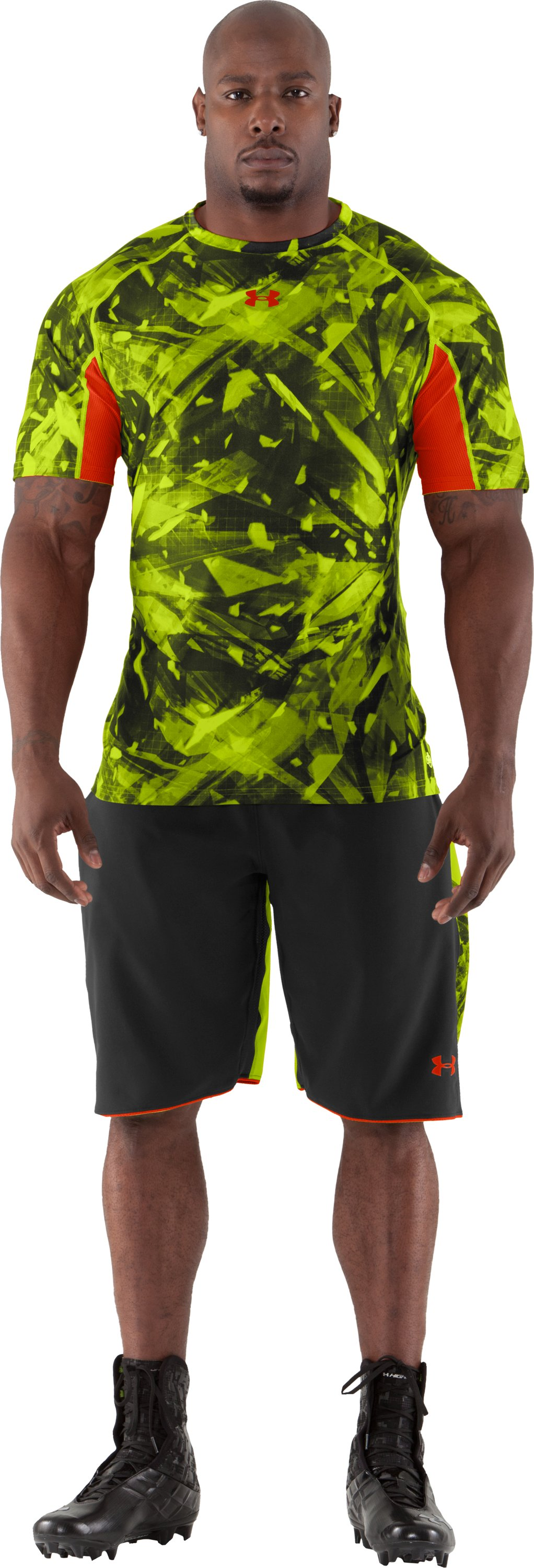 Men's NFL Combine Authentic Fitted Short Sleeve, Velocity, Front