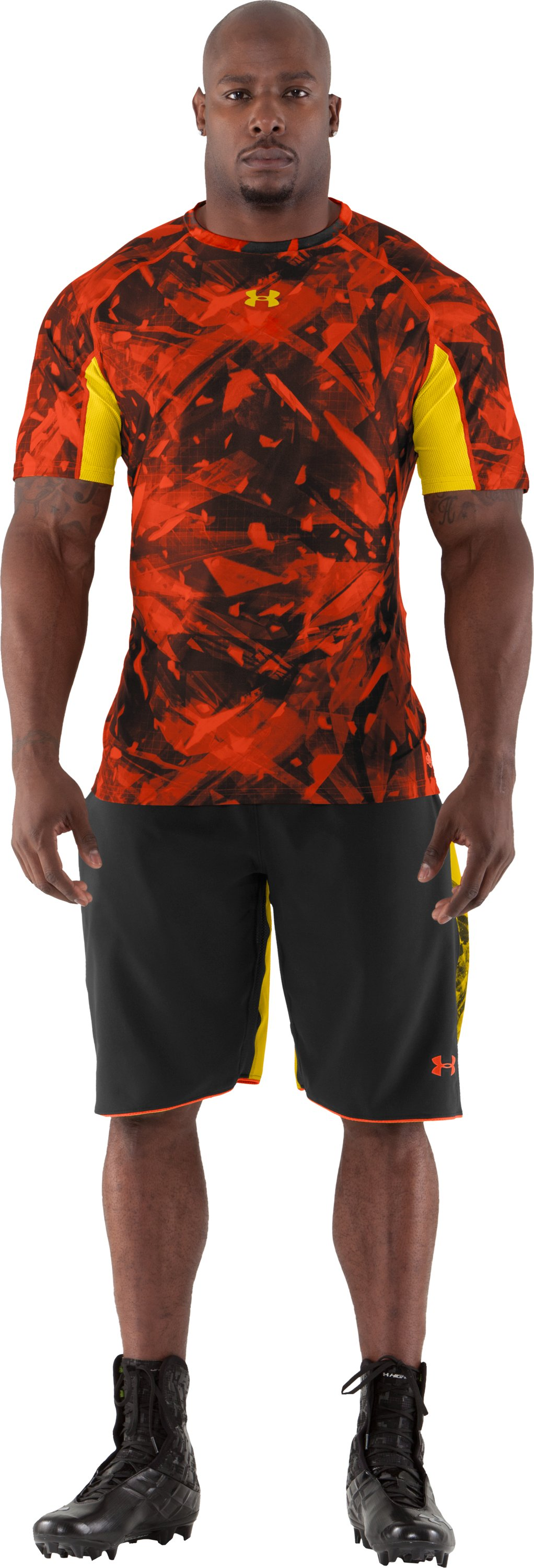Men's NFL Combine Authentic Fitted Short Sleeve, Explosive