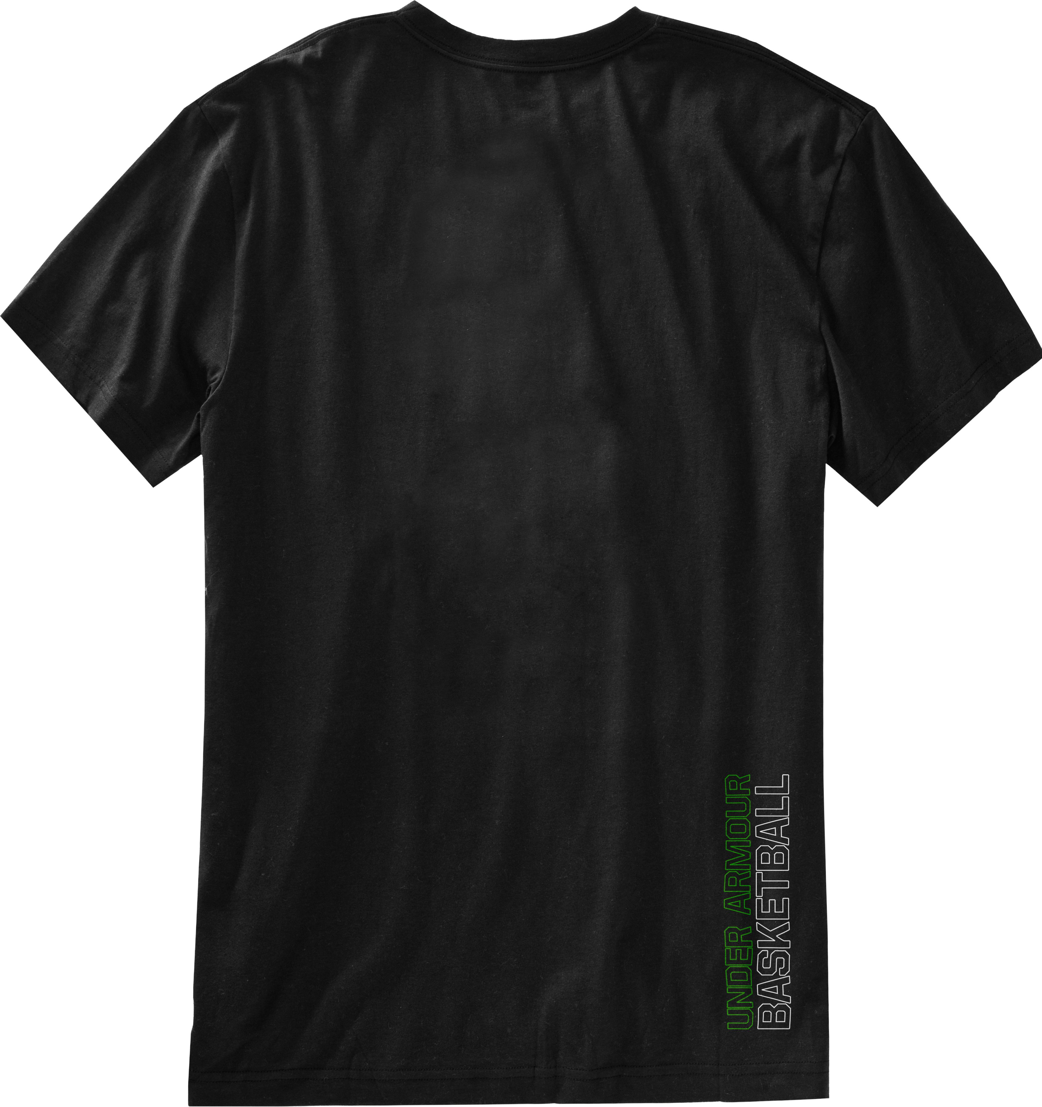 Men's UA Shot Clock T-Shirt, Black