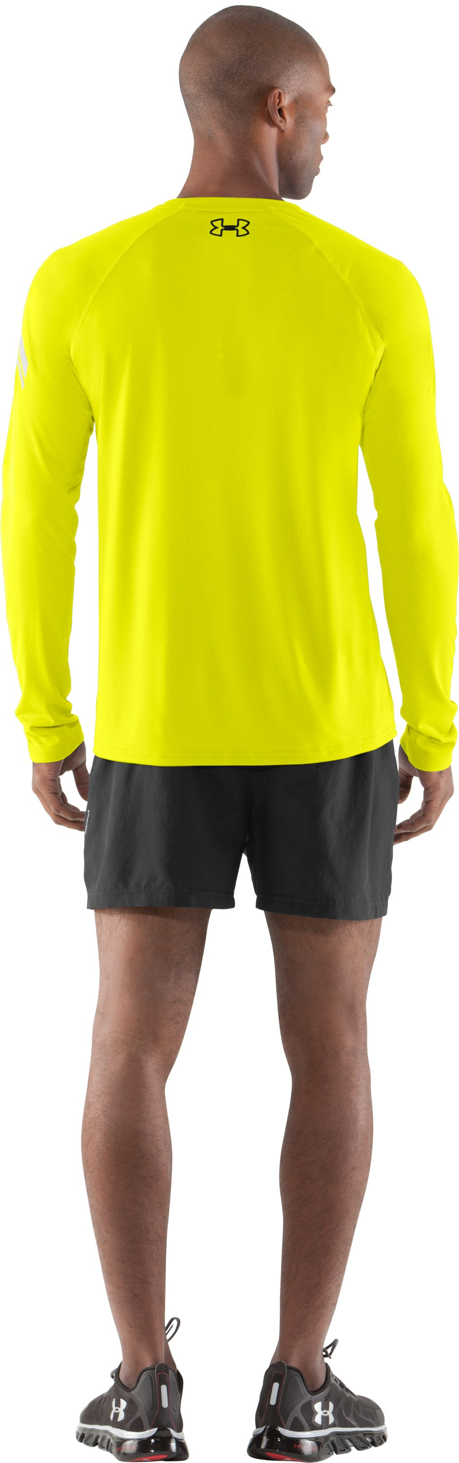 Men's UA Don't Be Last® T-Shirt, High-Vis Yellow, Back