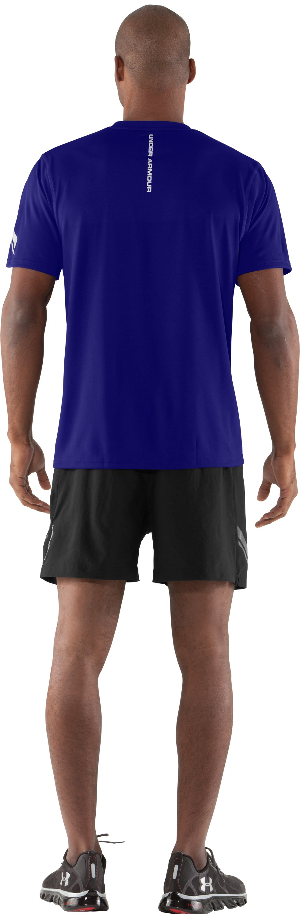 Men's UA Escape T-Shirt, Caspian, Back