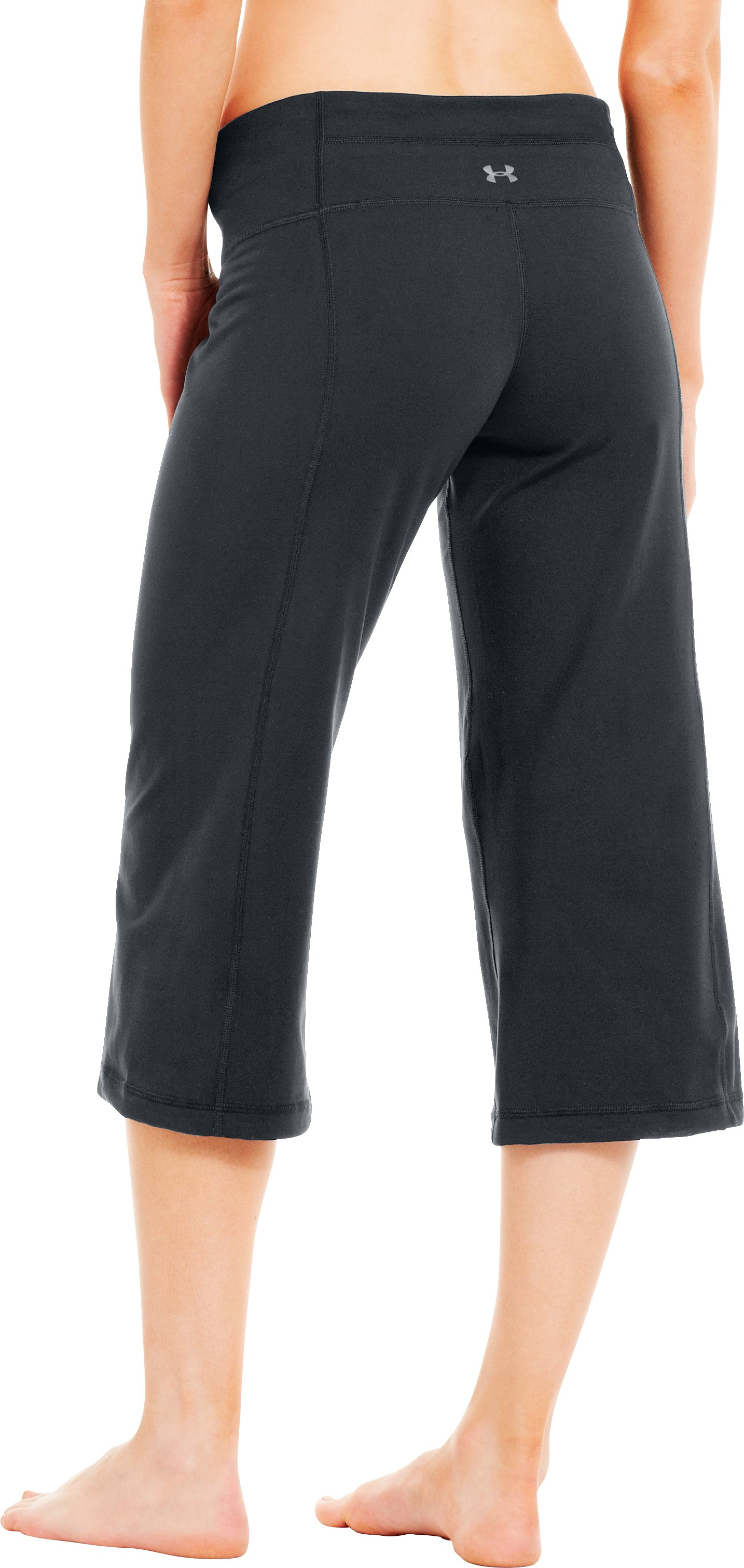 Women's UA Perfect Flow Capri, ANTHRACITE