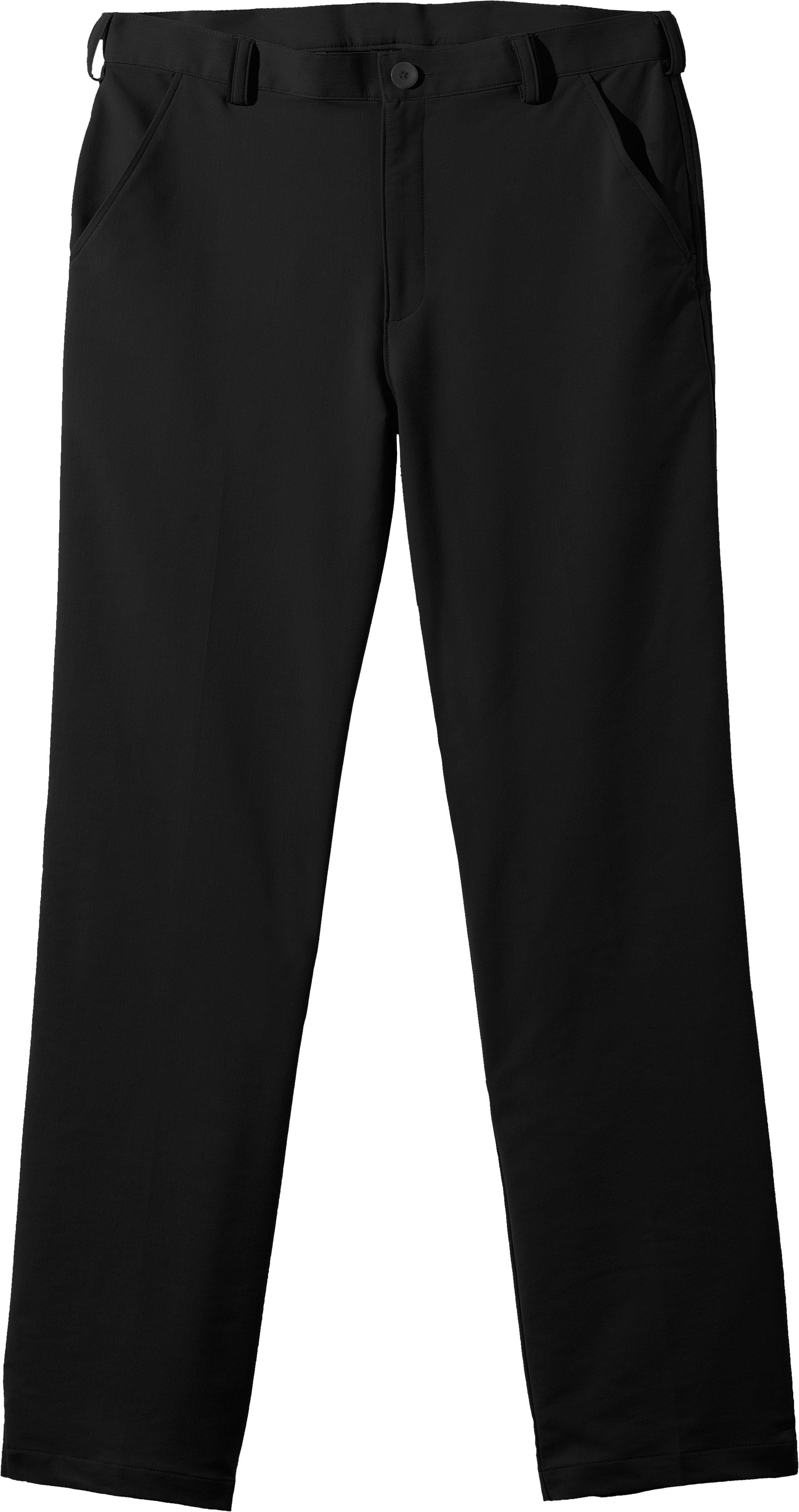 Men's UA Bent Grass 2.0 Pants, Black , Laydown