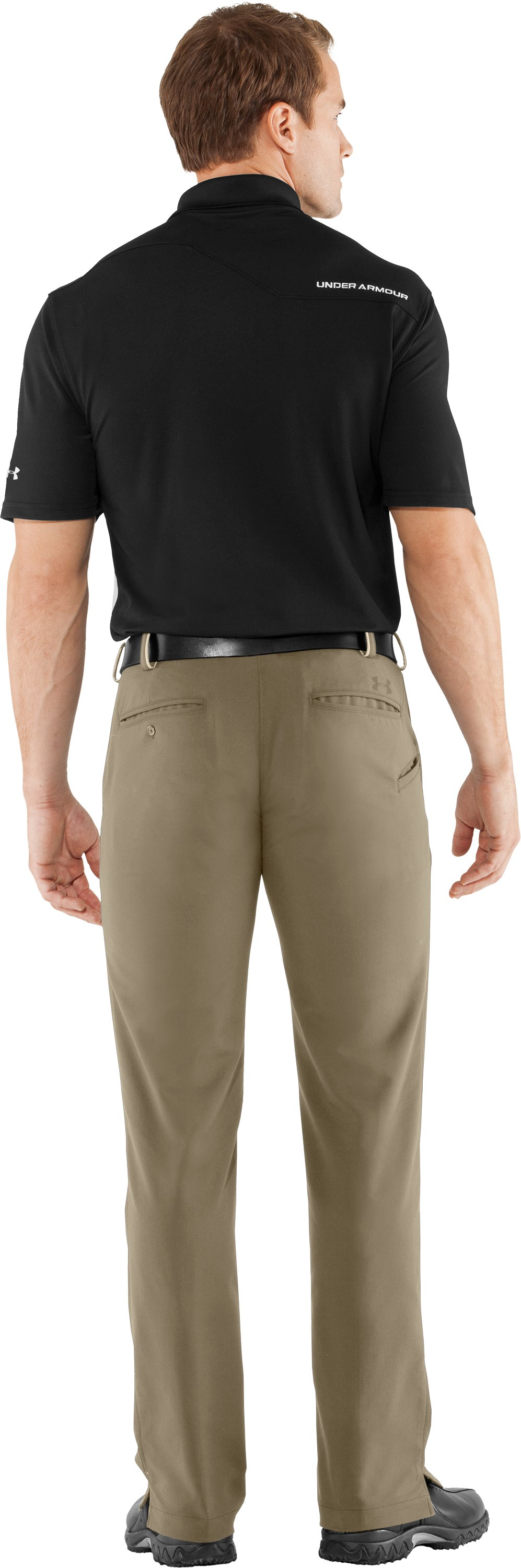 Men's UA Bent Grass 2.0 Pants, Canvas, Back