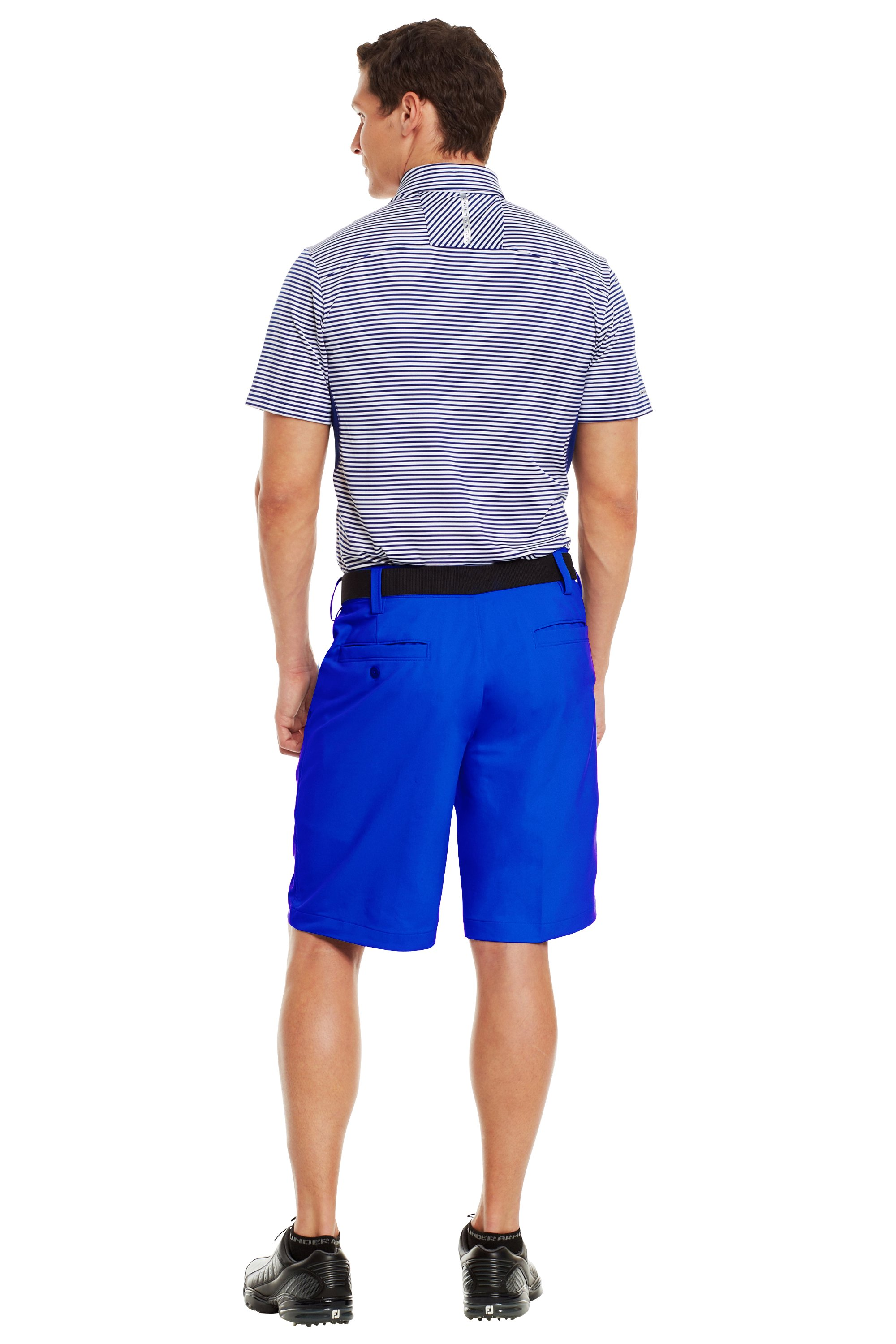Men's UA Bent Grass Golf Shorts, Moon Shadow, Back
