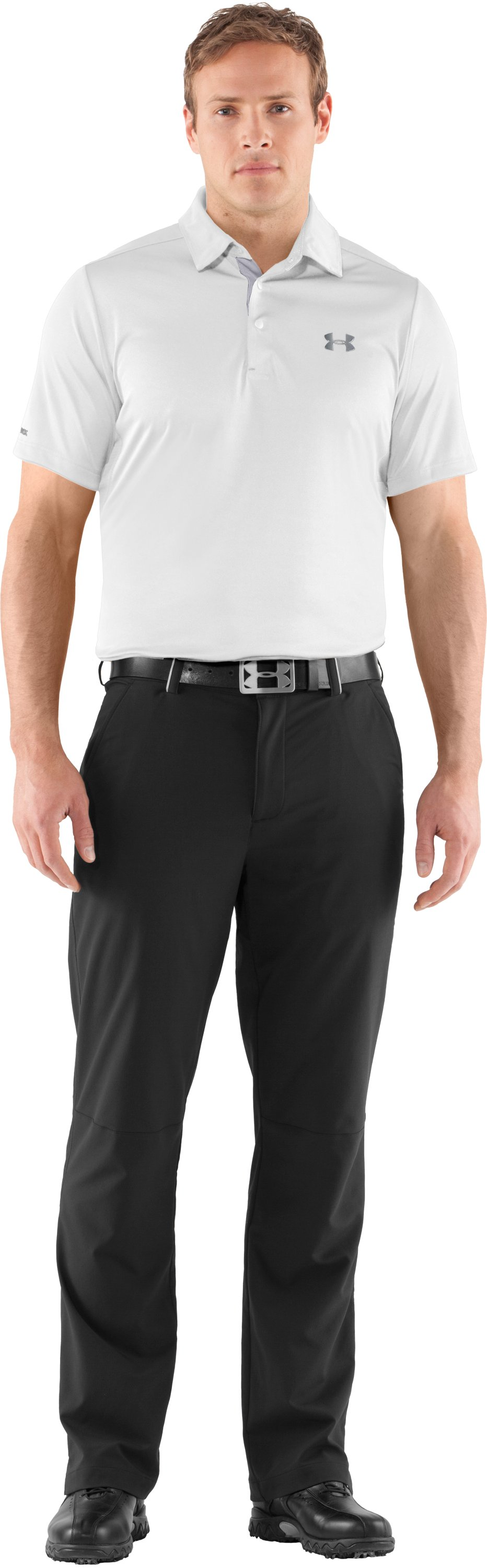 Men's coldblack® Player Polo, White