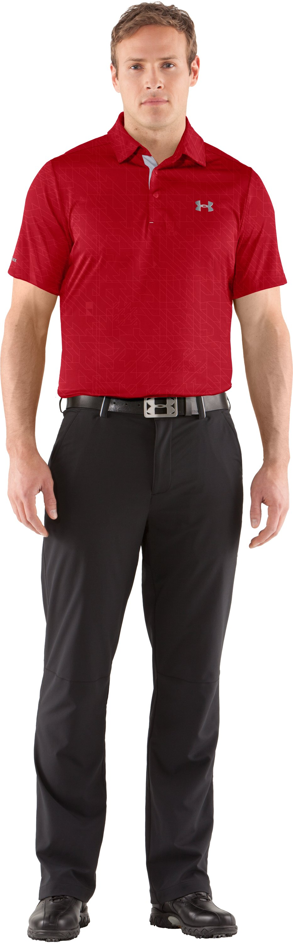 Men's coldblack® Player Polo, Red