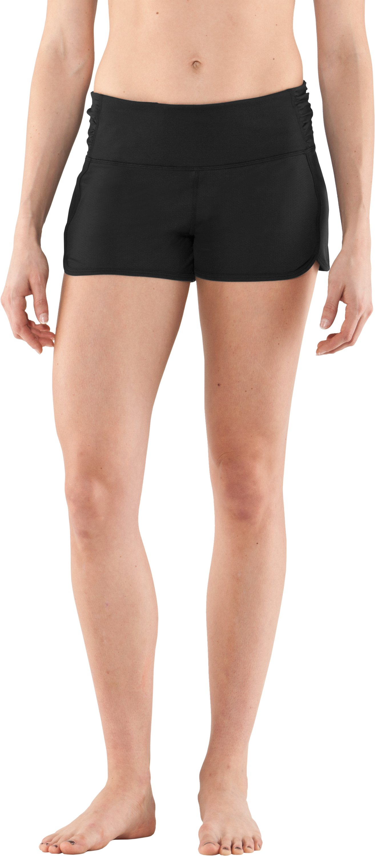 Women's UA Hot Class Shorty, Black , zoomed image