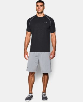 Men's UA Tech™ Patterned Short Sleeve T-Shirt