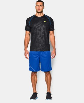 Men's UA Tech™ Patterned Short Sleeve T-Shirt  1 Color $14.99