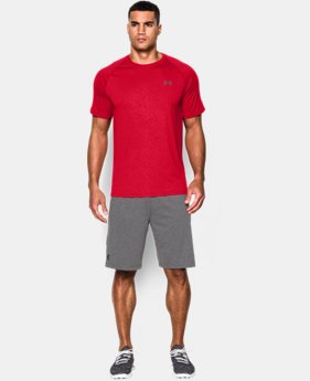 Men's UA Tech™ Patterned Short Sleeve T-Shirt  2 Colors $14.99