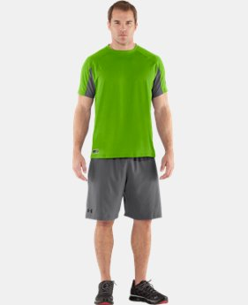 Men's UA Combine® Training Velocity Short Sleeve  1 Color $25.99