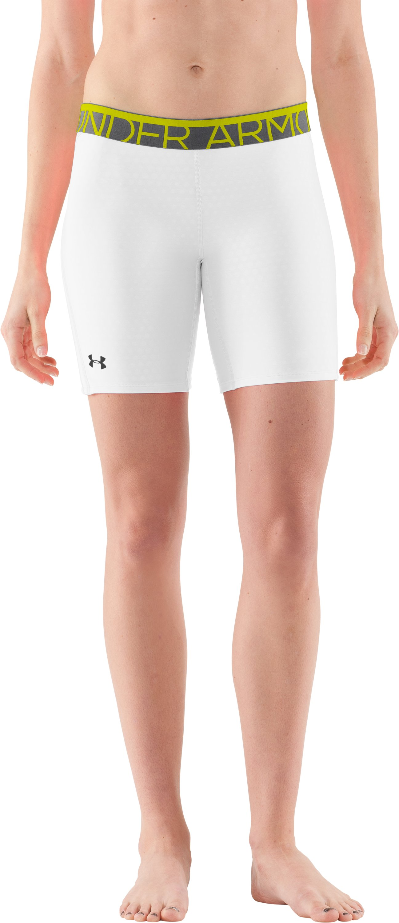 Women's MPZ® Strike Zone Shorts, White, zoomed image