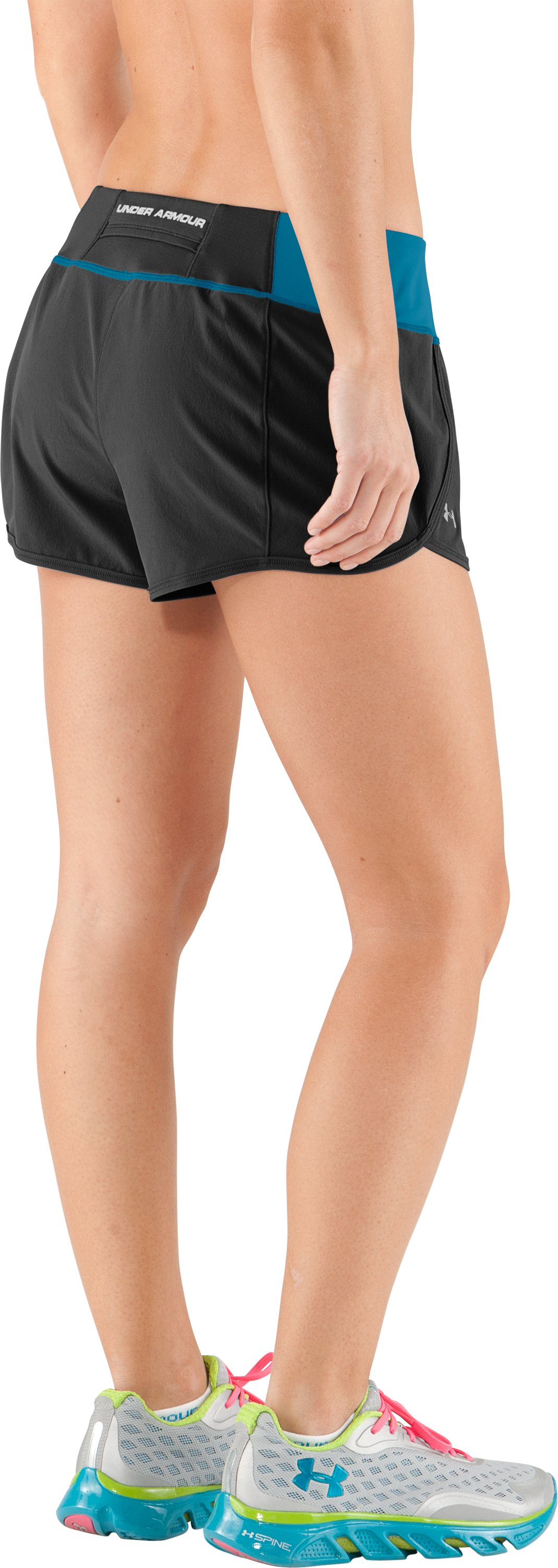 Women's UA Get Set Go Shorts, Black