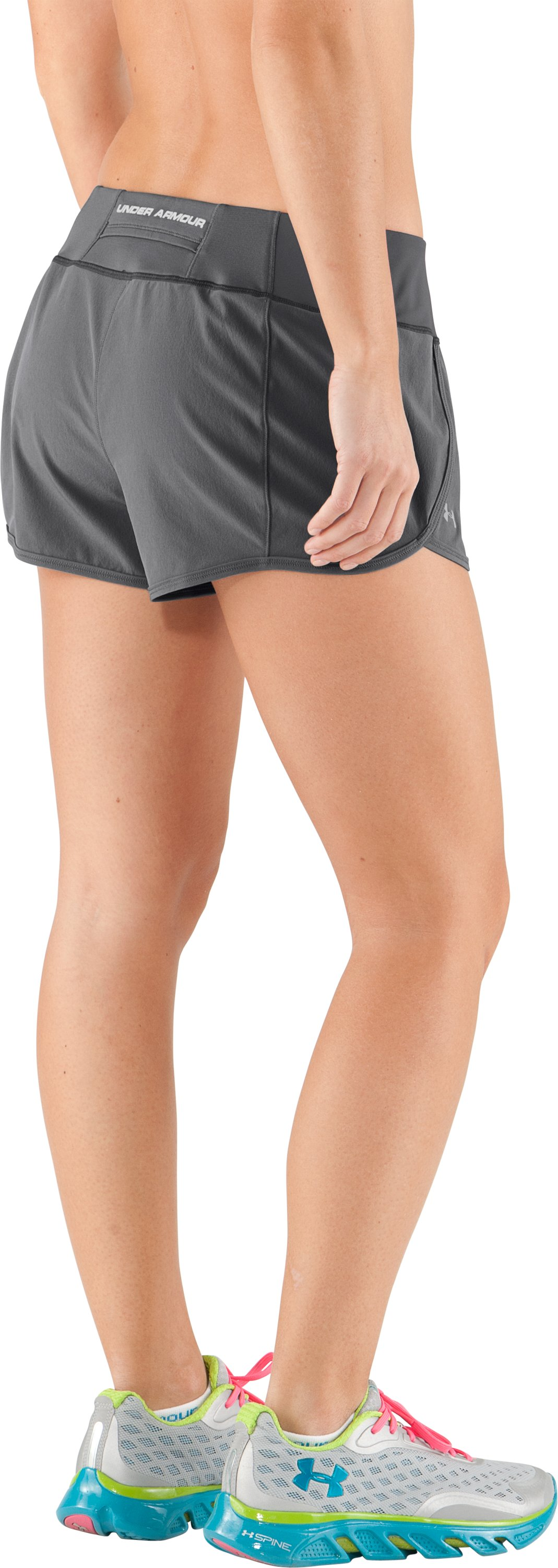 Women's UA Get Set Go Shorts, Graphite