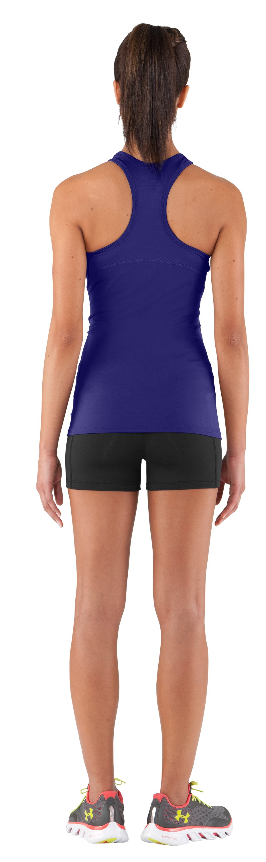 Women's HeatGear® Sonic Tank, Monarchy, Back
