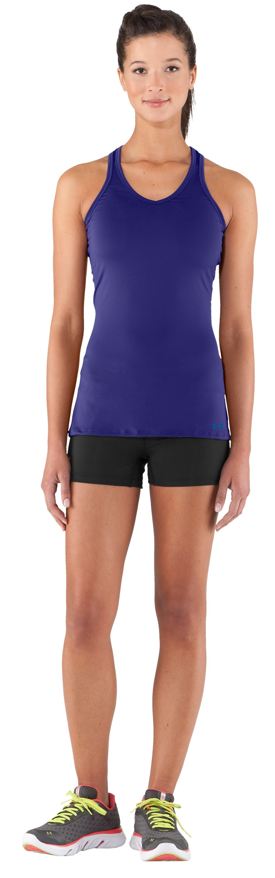 Women's HeatGear® Sonic Tank, Monarchy, zoomed image