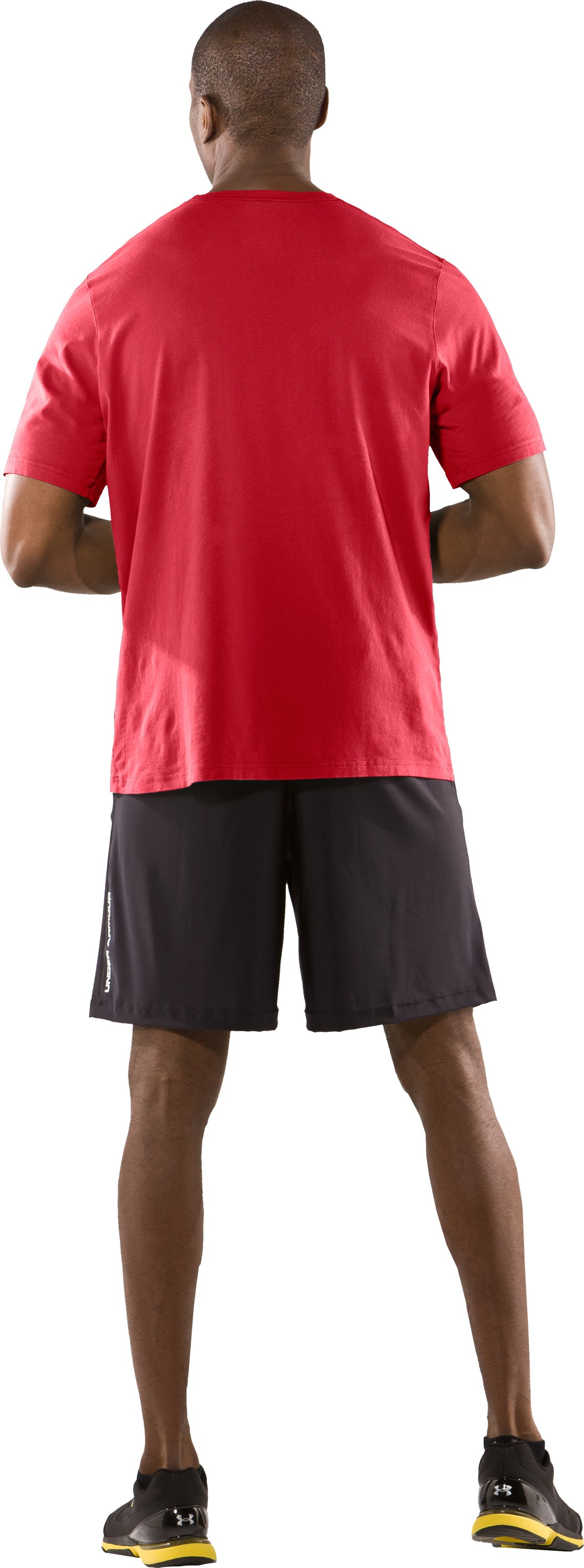 Men's UA Killer Game T-Shirt, Red, Back