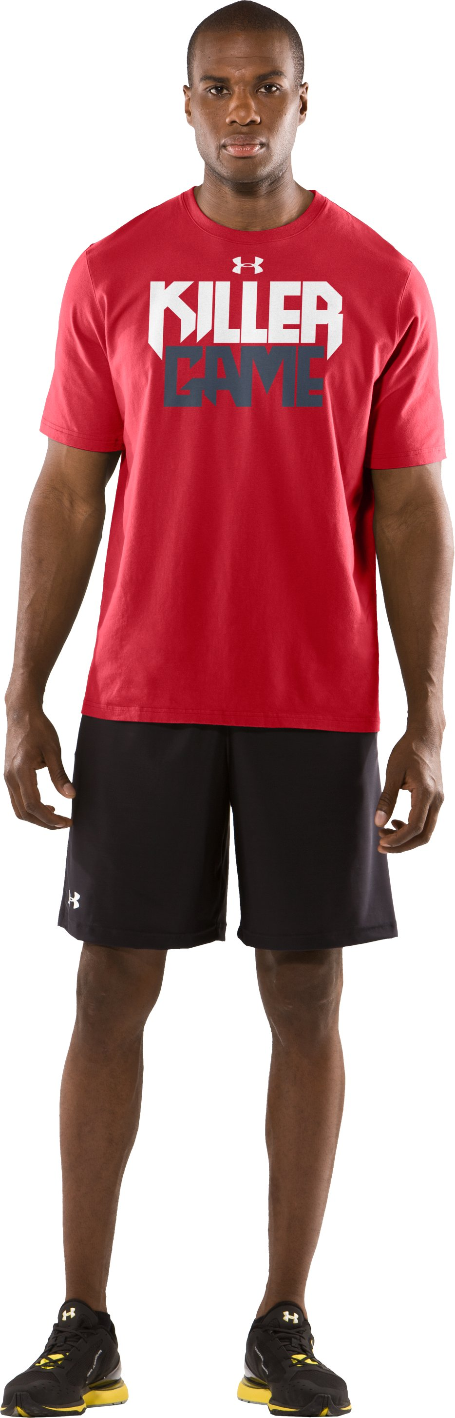 Men's UA Killer Game T-Shirt, Red, Front