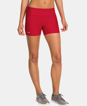 "Women's UA Authentic 4"" Compression Shorts LIMITED TIME: FREE U.S. SHIPPING 1 Color $18.99"