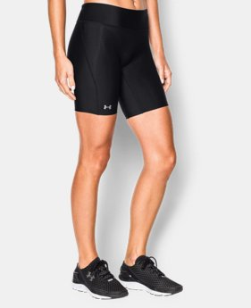 "Best Seller Women's UA Authentic 7"" Compression Shorts LIMITED TIME: FREE SHIPPING  $27.99"