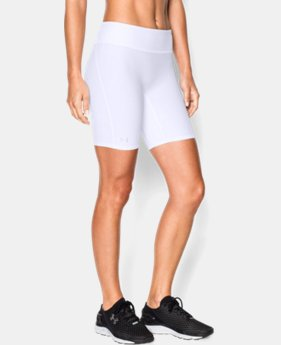 "Best Seller Women's UA Authentic 7"" Compression Shorts LIMITED TIME: FREE SHIPPING 1 Color $27.99"