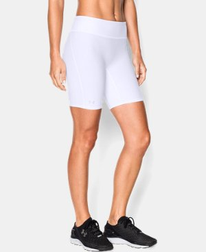 "Best Seller Women's UA Authentic 7"" Compression Shorts   $27.99"