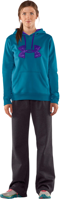 Women's Armour® Fleece Storm Printed Big Logo Hoodie | Under Armour US