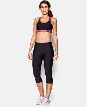 Women's UA HeatGear® Armour Sports Bra LIMITED TIME: FREE U.S. SHIPPING 5 Colors $11.24 to $29.99