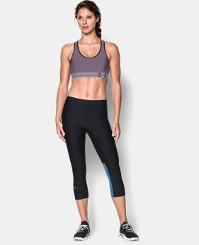 Women's UA HeatGear® Armour Sports Bra LIMITED TIME: FREE U.S. SHIPPING 4 Colors $11.24 to $29.99