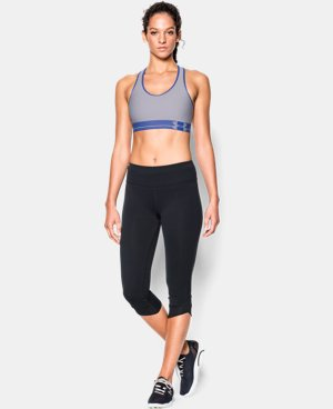 Women's UA HeatGear® Armour Sports Bra LIMITED TIME: FREE U.S. SHIPPING 2 Colors $14.24 to $18.99