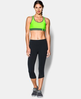 Women's UA HeatGear® Armour Sports Bra LIMITED TIME: FREE U.S. SHIPPING 2 Colors $11.24 to $29.99
