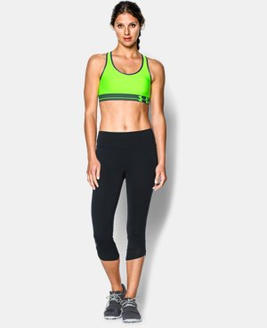 Women's UA HeatGear® Armour Sports Bra LIMITED TIME: FREE U.S. SHIPPING 1 Color $14.24 to $18.99