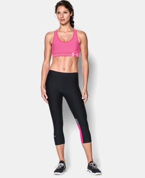 Women's UA HeatGear® Armour Sports Bra  1 Color $18.99 to $29.99