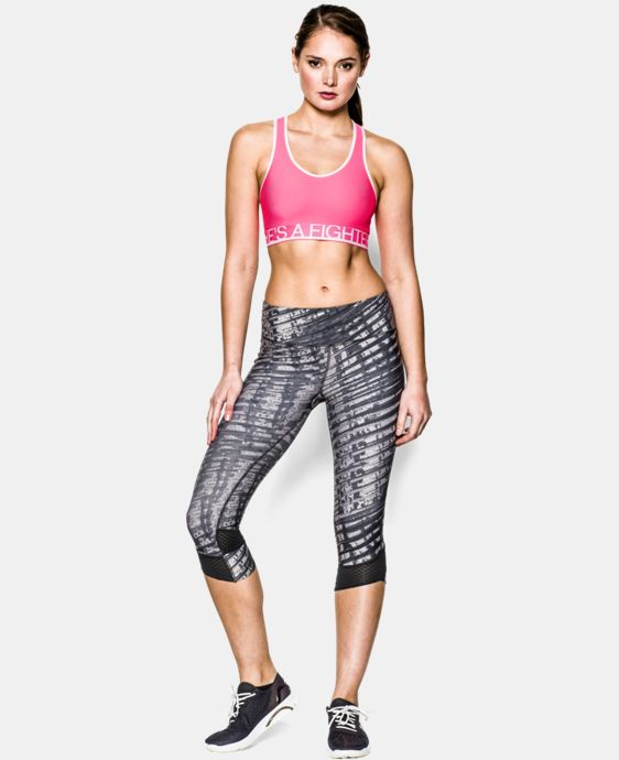 Women's UA HeatGear® Armour Sports Bra LIMITED TIME: FREE U.S. SHIPPING 2 Colors $14.24 to $14.99
