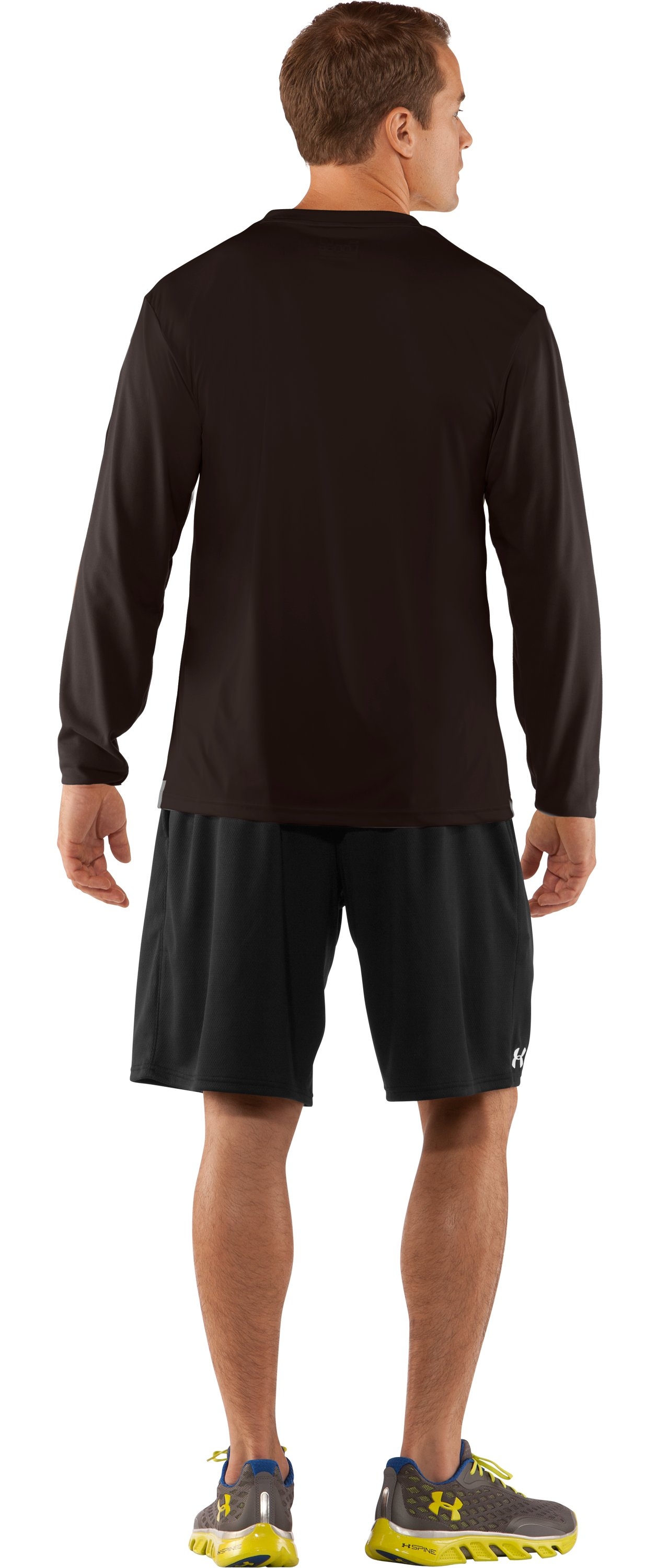 Men's UA Antler Long Sleeve T-Shirt, Bureau, Back