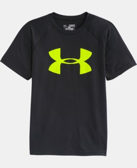 Boys' UA Big Logo Embossed T-Shirt