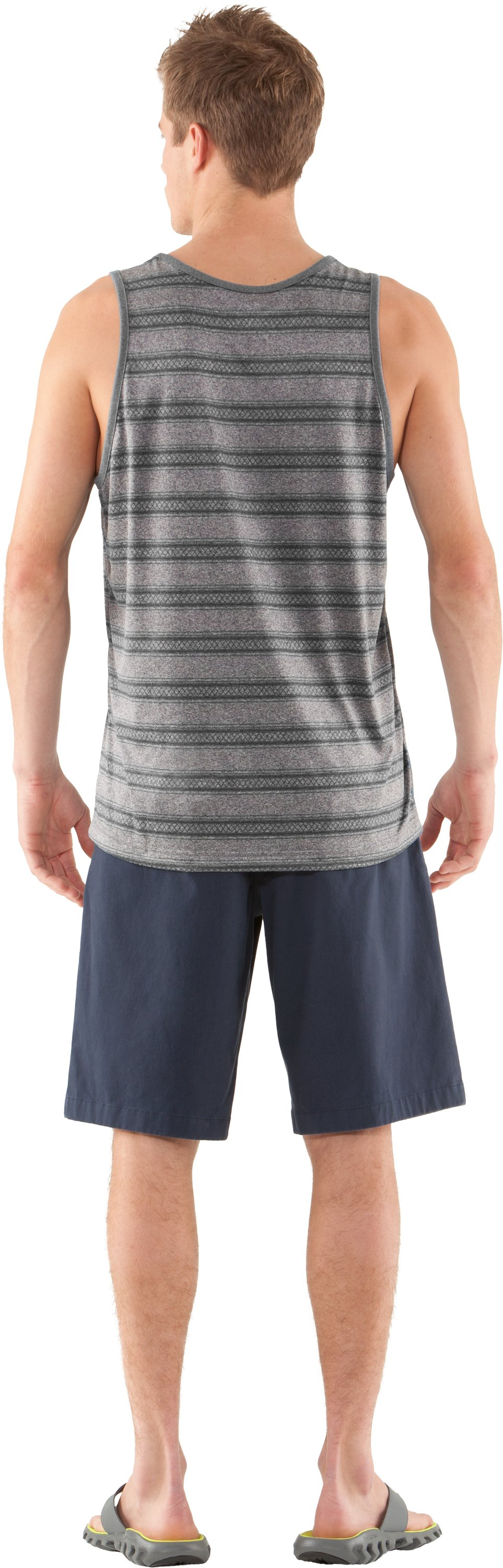 Men's UA Tech™ Push Tank, BOULDER, Back