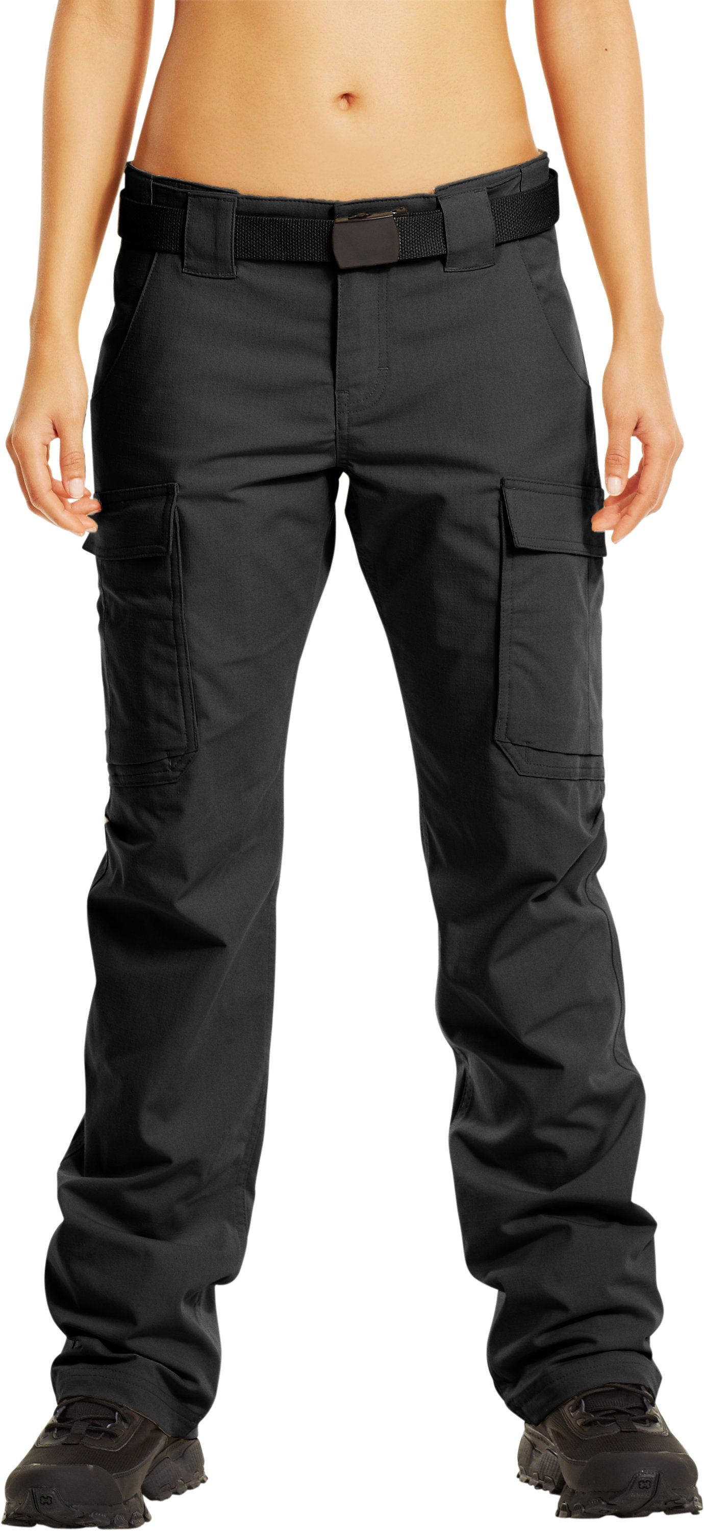 Women's Tactical Duty Pants, Black , undefined