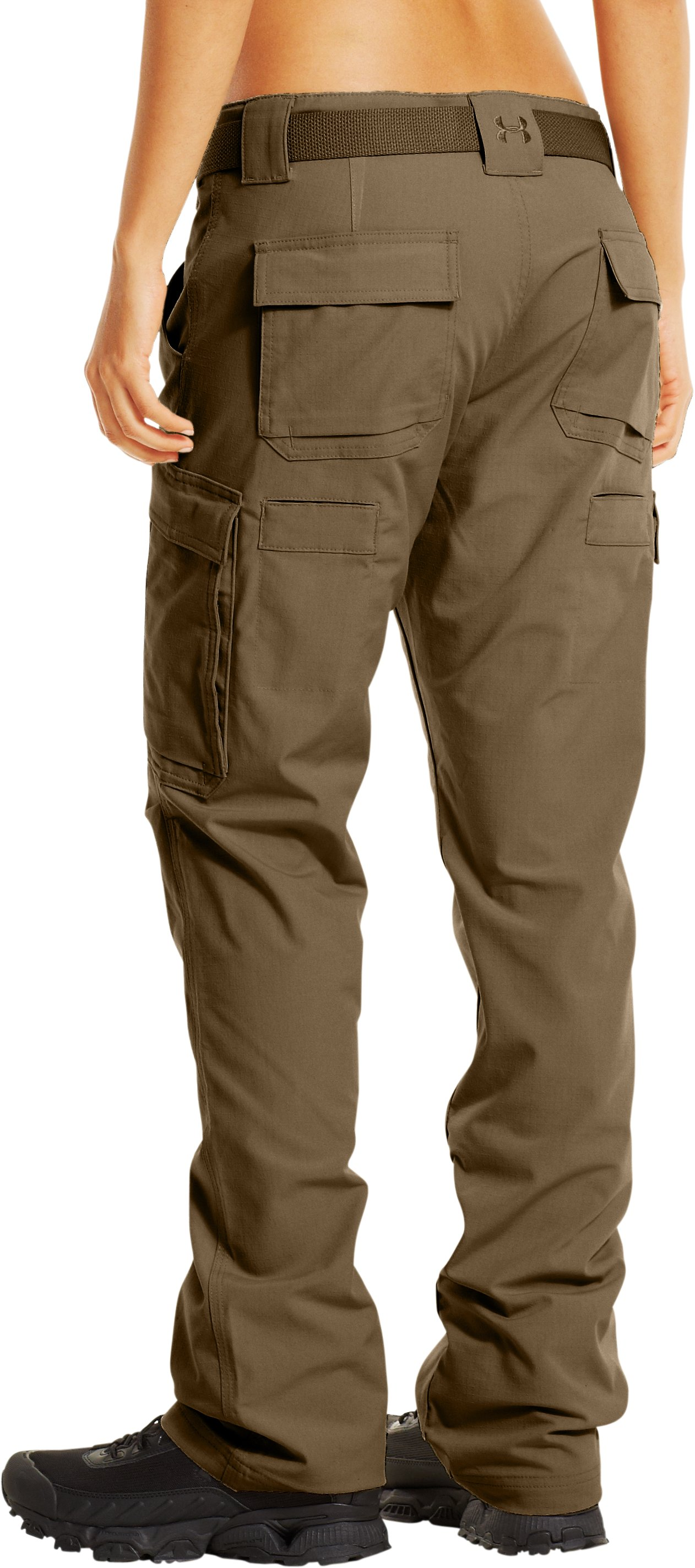 Women's Tactical Duty Pants, Coyote Brown, undefined