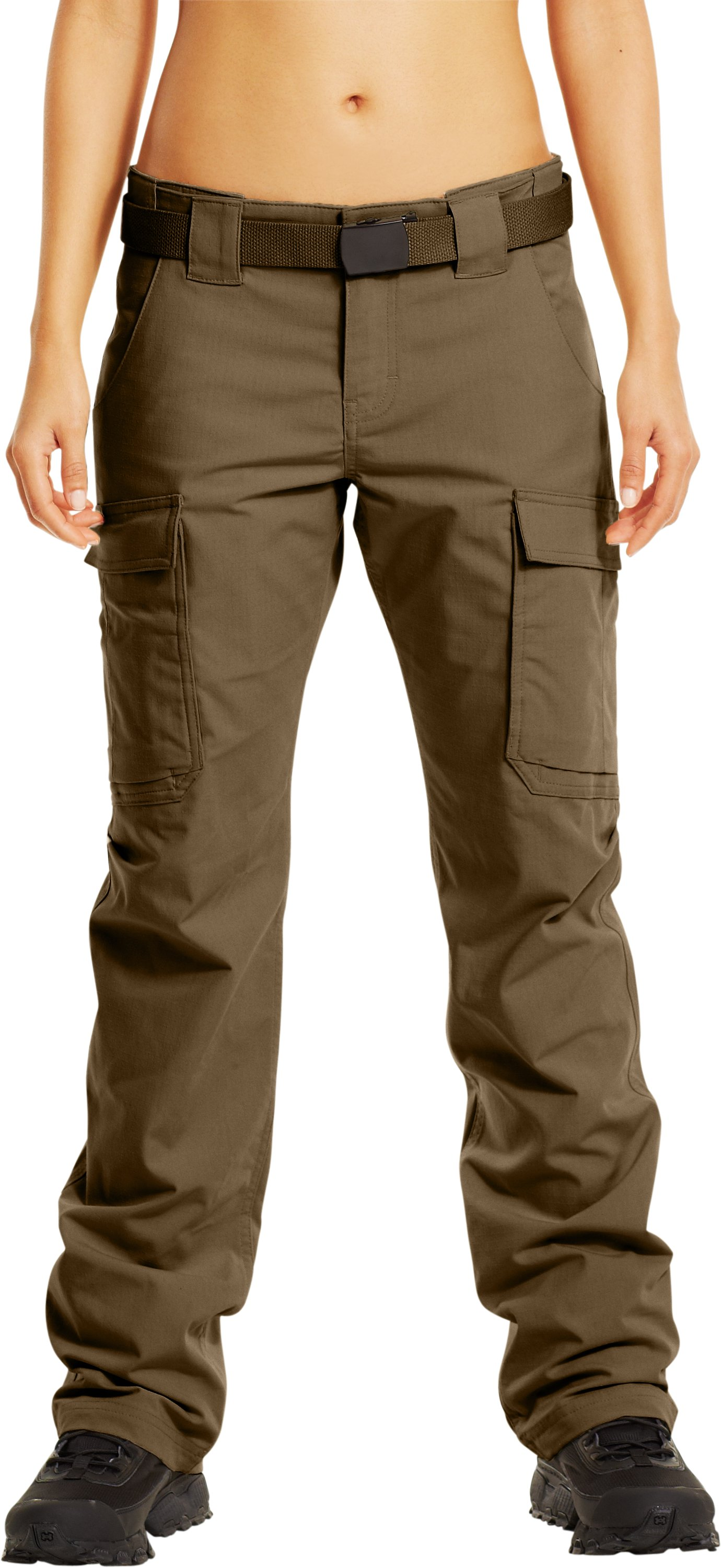 Women's Tactical Duty Pants, Coyote Brown, zoomed image