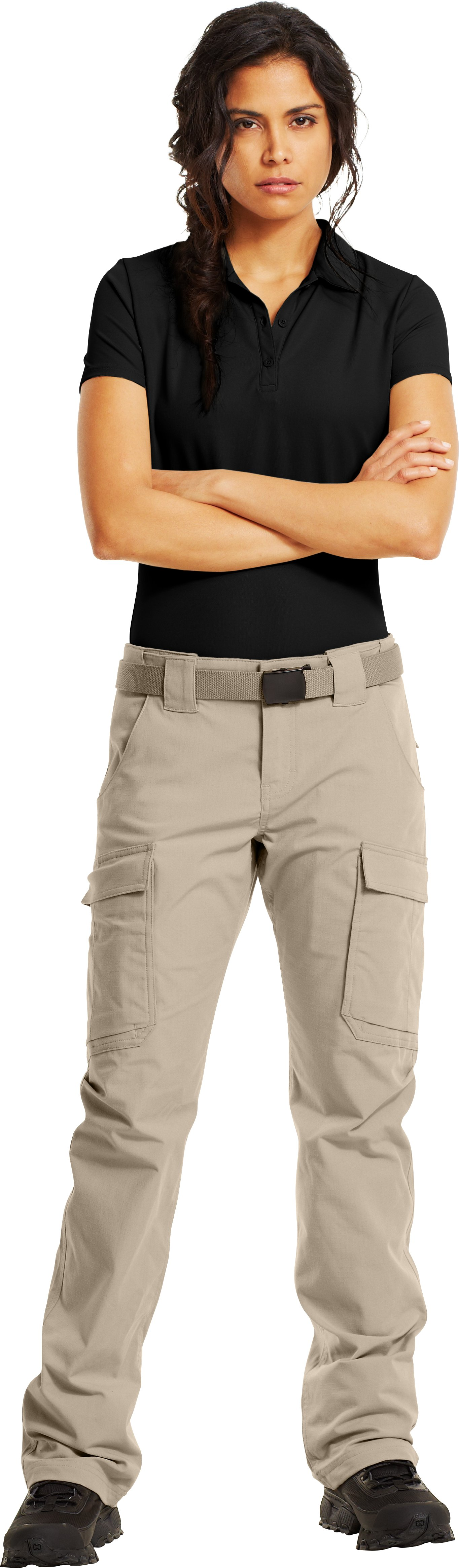 Women's Tactical Duty Pants, Desert Sand, Front