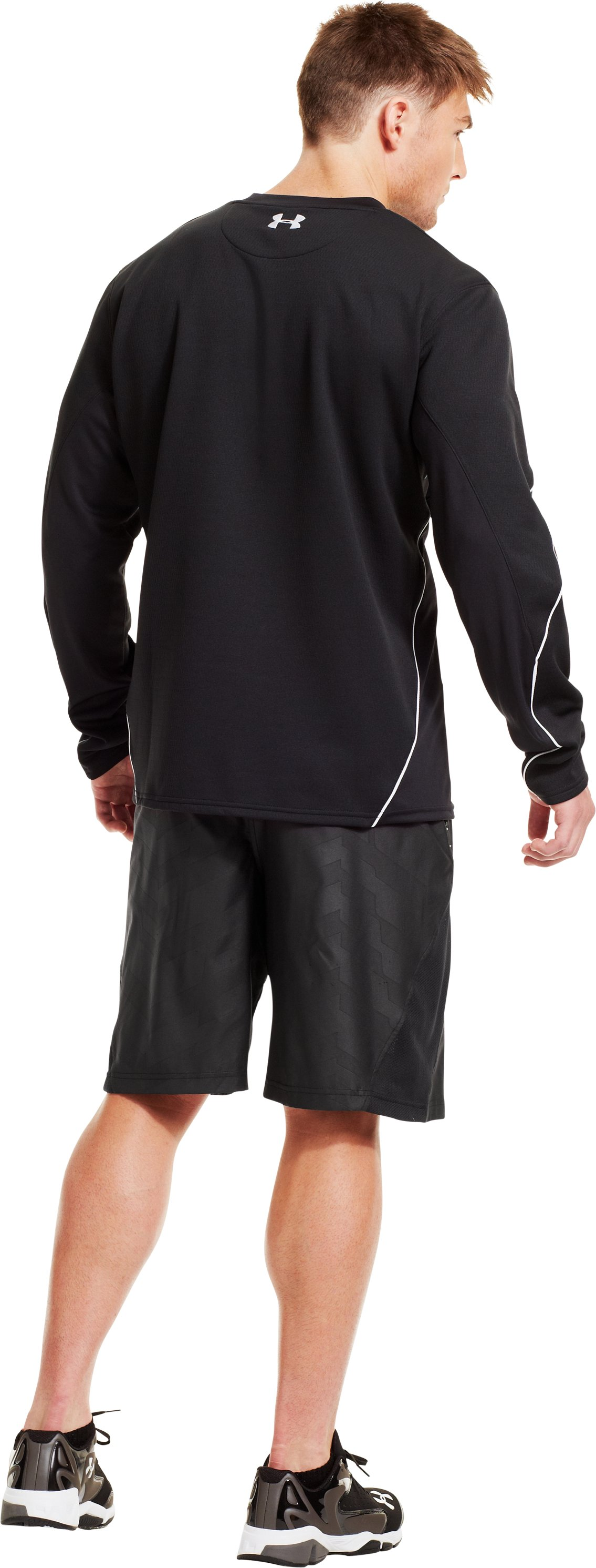 Men's UA Gamer Fleece, Black , Back