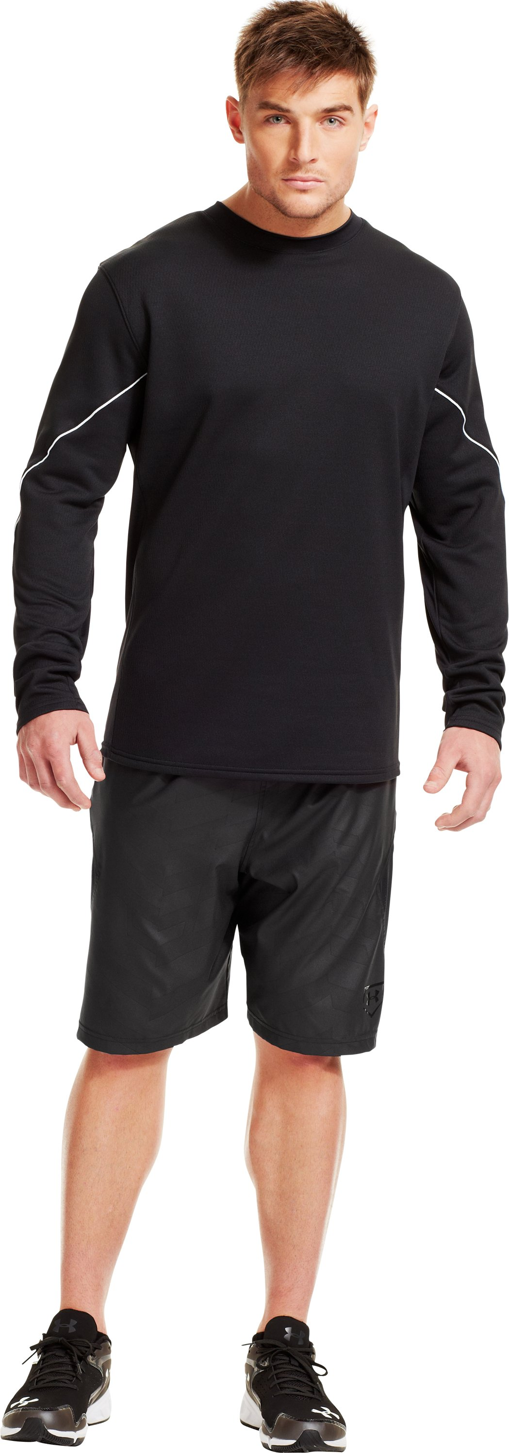 Men's UA Gamer Fleece, Black , Front