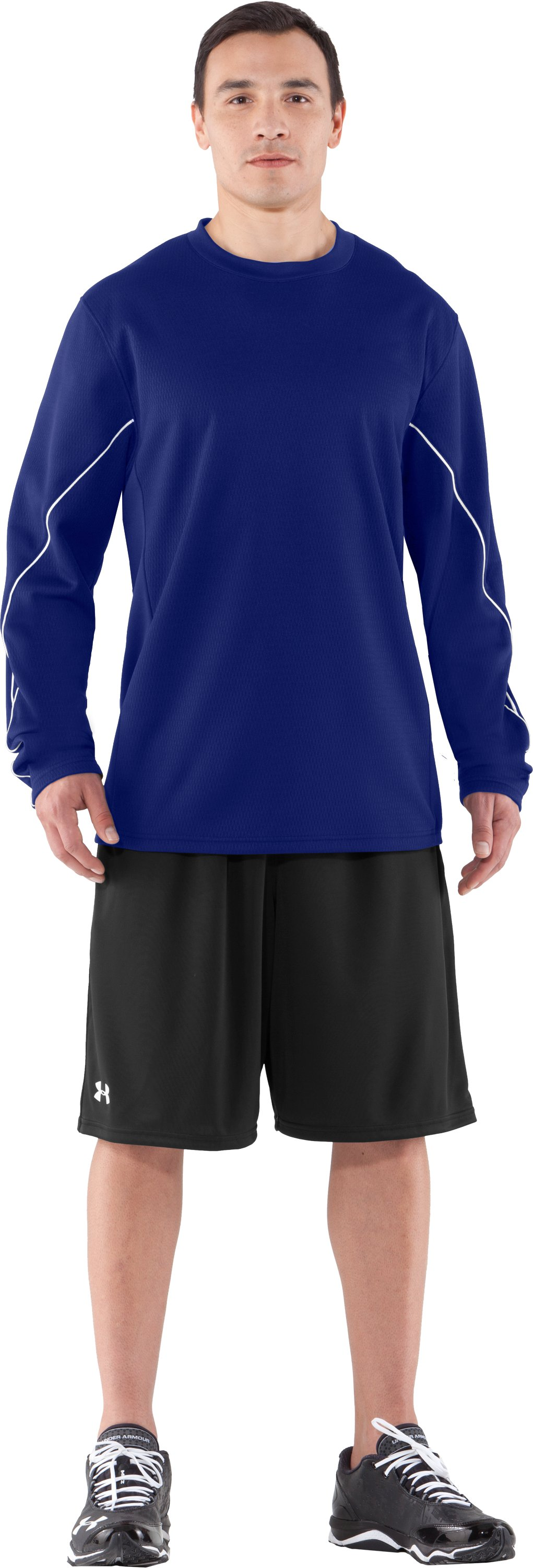 Men's UA Gamer Fleece, Royal, Front
