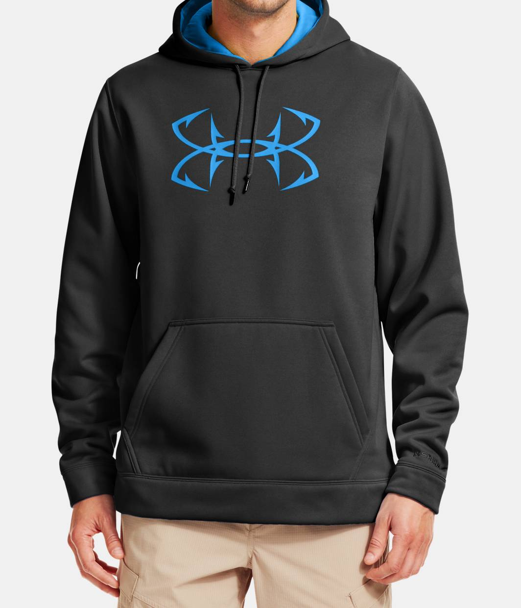 Men 39 s ua storm fish hook hoodie under armour ca for Under armour fish hook