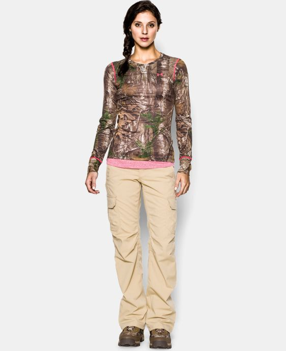 Women's HeatGear® EVO Camo Long Sleeve LIMITED TIME: FREE SHIPPING 1 Color $37.99
