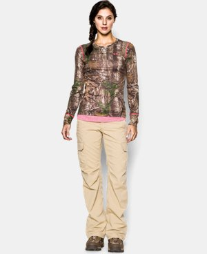Women's HeatGear® EVO Camo Long Sleeve  1 Color $37.99