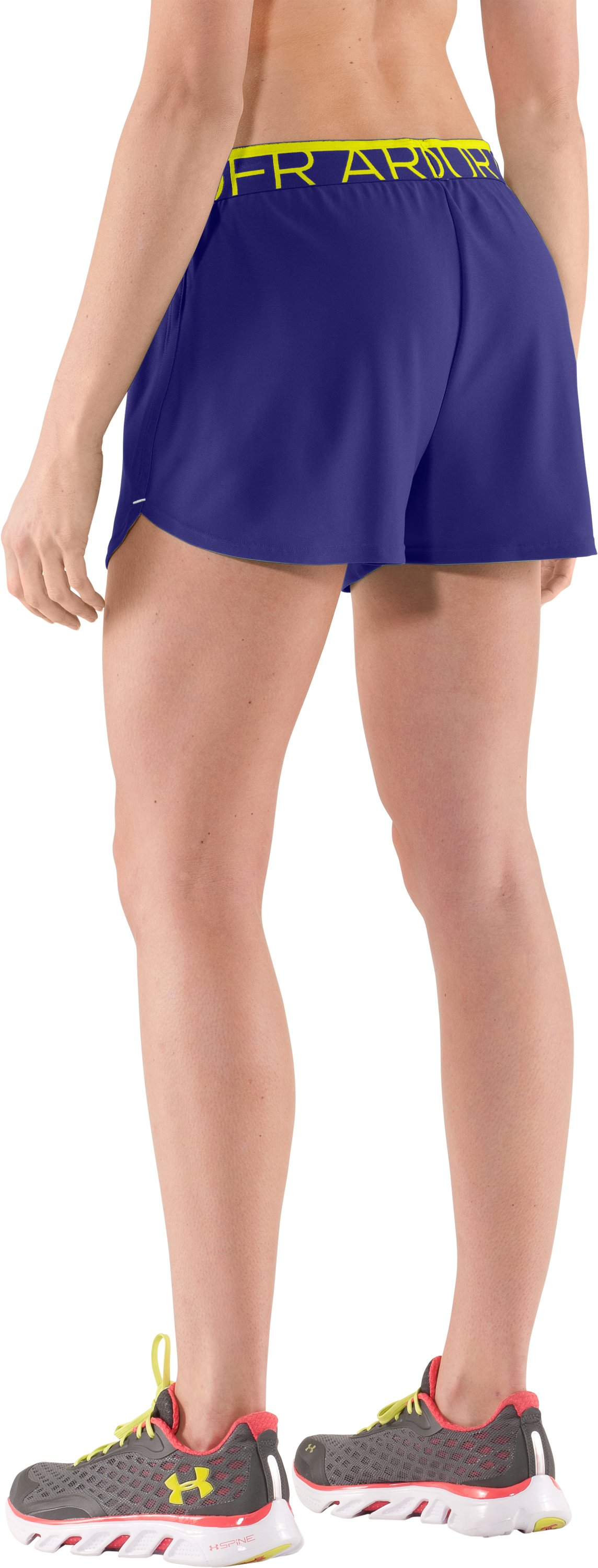 Women's UA Play Up Shorts, Monarchy
