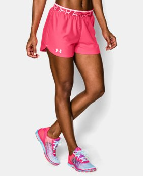 Women's UA Play Up Shorts   $14.99